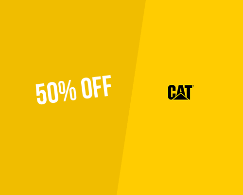 bfafea6cc7fb Cat Footwear Promo Code for the UK → 50% OFF Discount