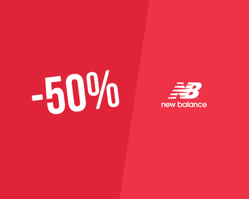 50% Discount → New Balance Promo Code