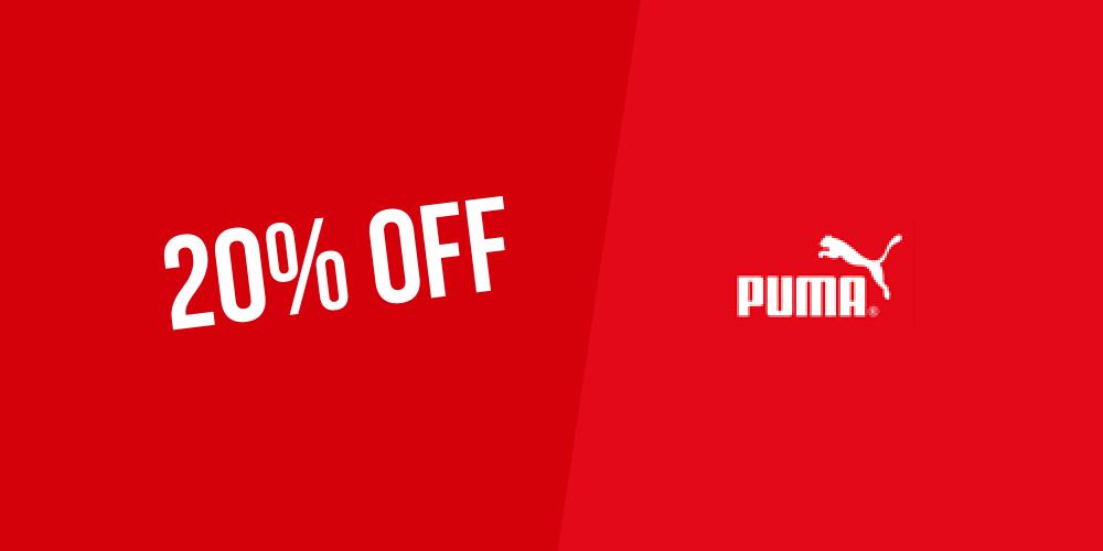 Puma coupon code 2018